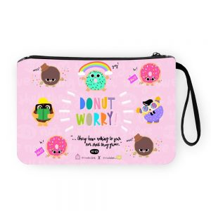 Donut Worry Pouch Bag