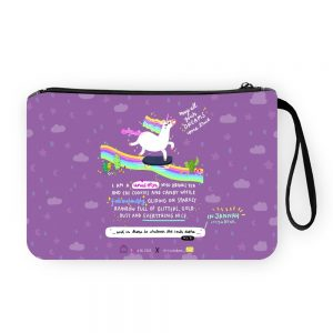 Unicorn in Jannah Pouch Bag