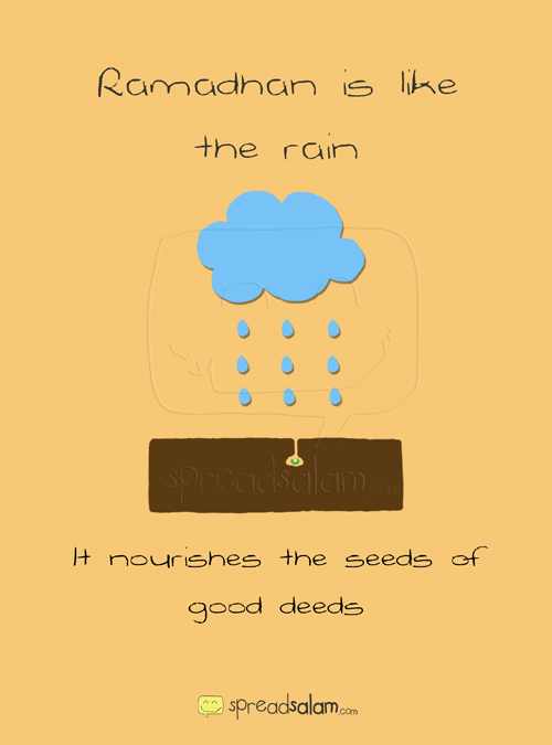 Ramadhan is Like... The Rain