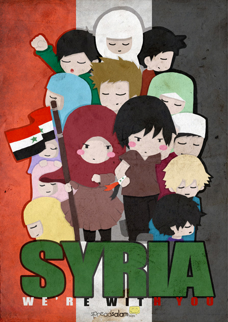 Syria, We're With You!