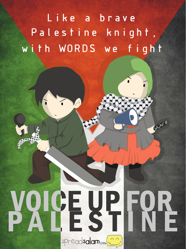 Voice Up for Palestine 2