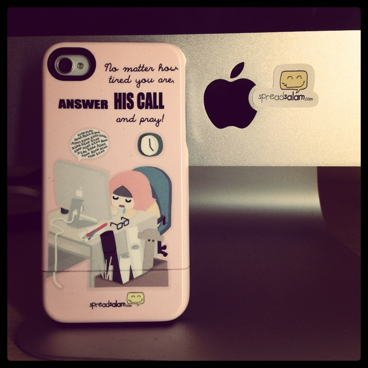 """A perfect reminder: """"He's calling me"""" on my iPhone"""