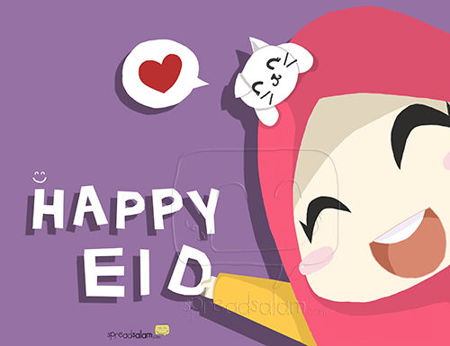 HAPPY 'EID! from SpreadSalam